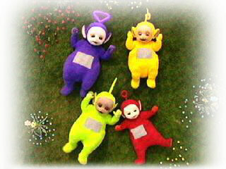 Names of teletubbies by color