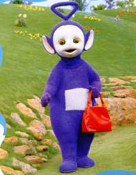This Is Tinky Winky The Oldest And Tallest Of Teletubbies Defined As Male Terribly Reserved Extremely Gentle